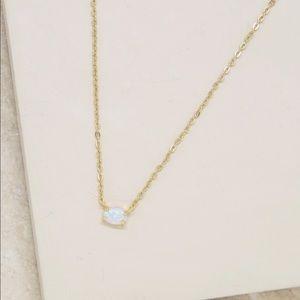 Ettika Kyocera Opal Necklace